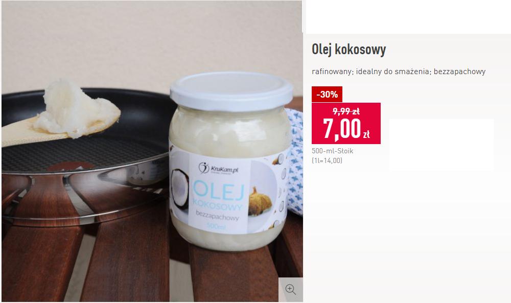 Olej kokosowy bezzapachowy 500ml - ALDI