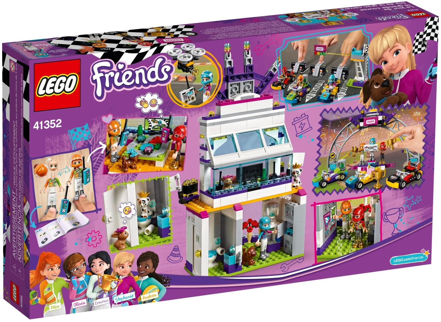 LEGO Friends Dzień wielkiego wyścigu Darmowa dostawa!