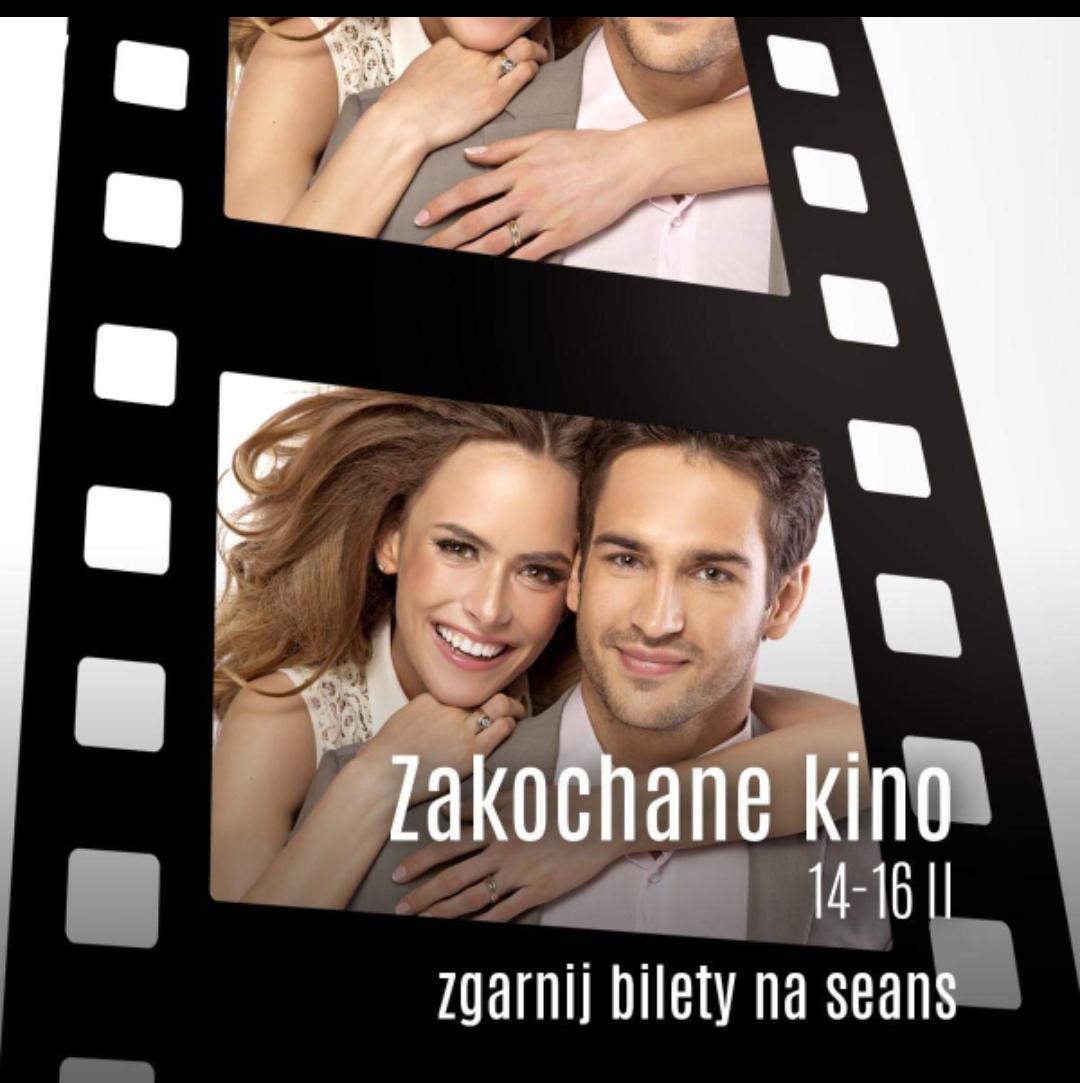 Darmowy bilet na seans dla pary- walentynkowe kino w Galerii Krakowskiej