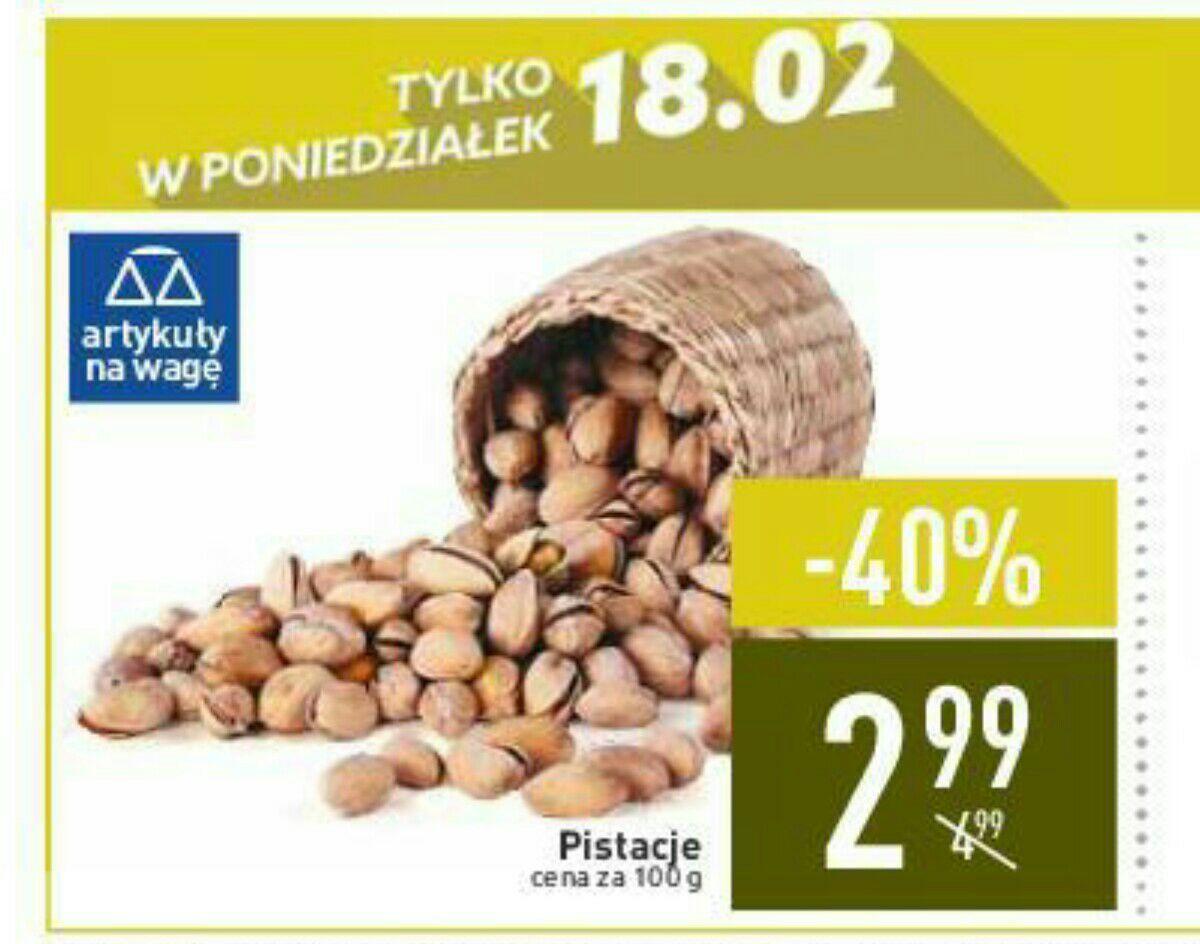 Super cena na pistacje w Carrefour (18.02) ogólnopolska