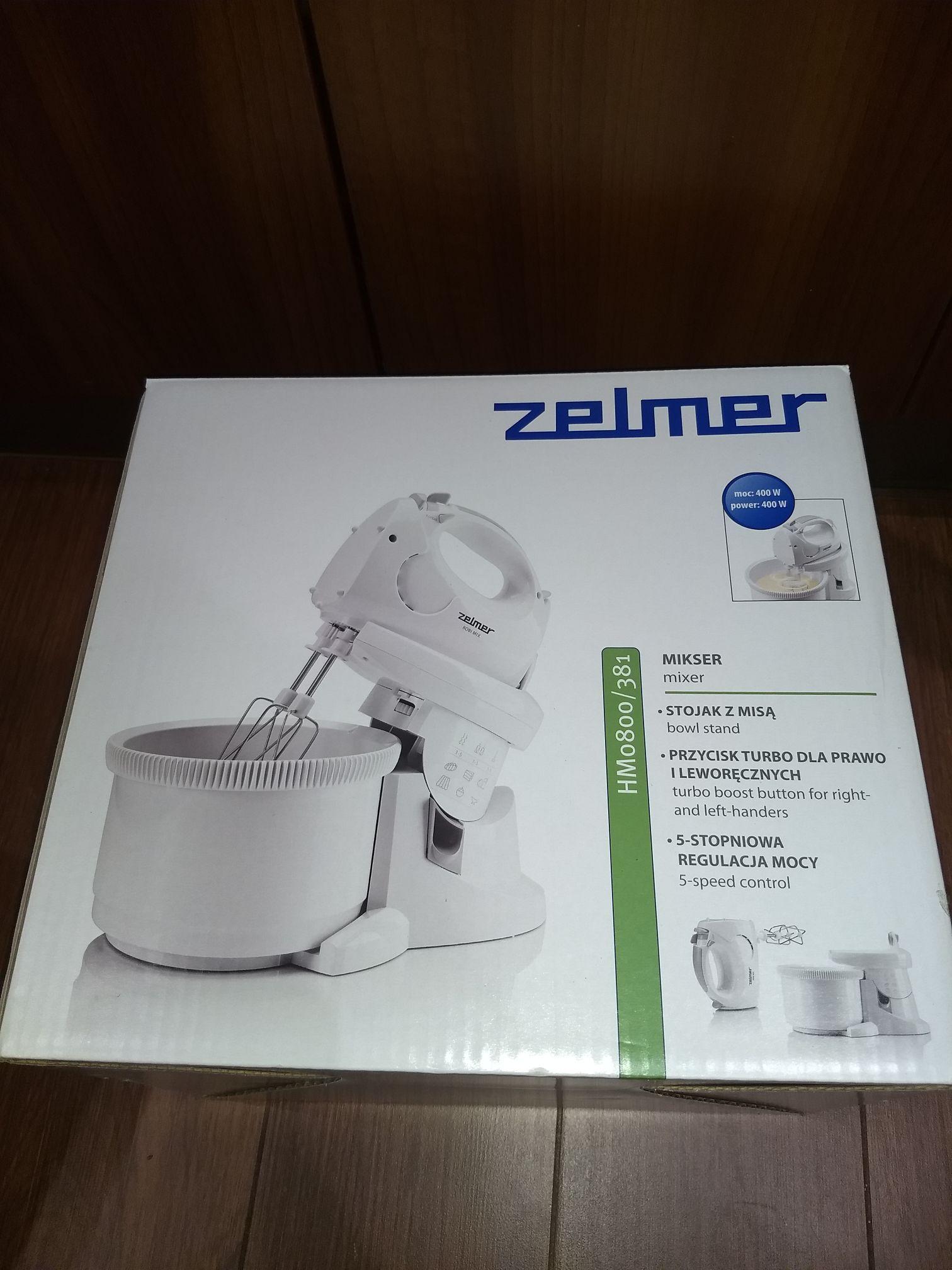 Mikser z misą Zelmer HM0800/381 Kaufland