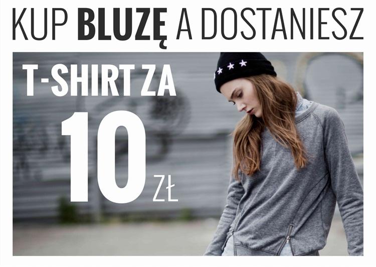Kup bluzę a dostaniesz T-shirt za 10 zł @ House