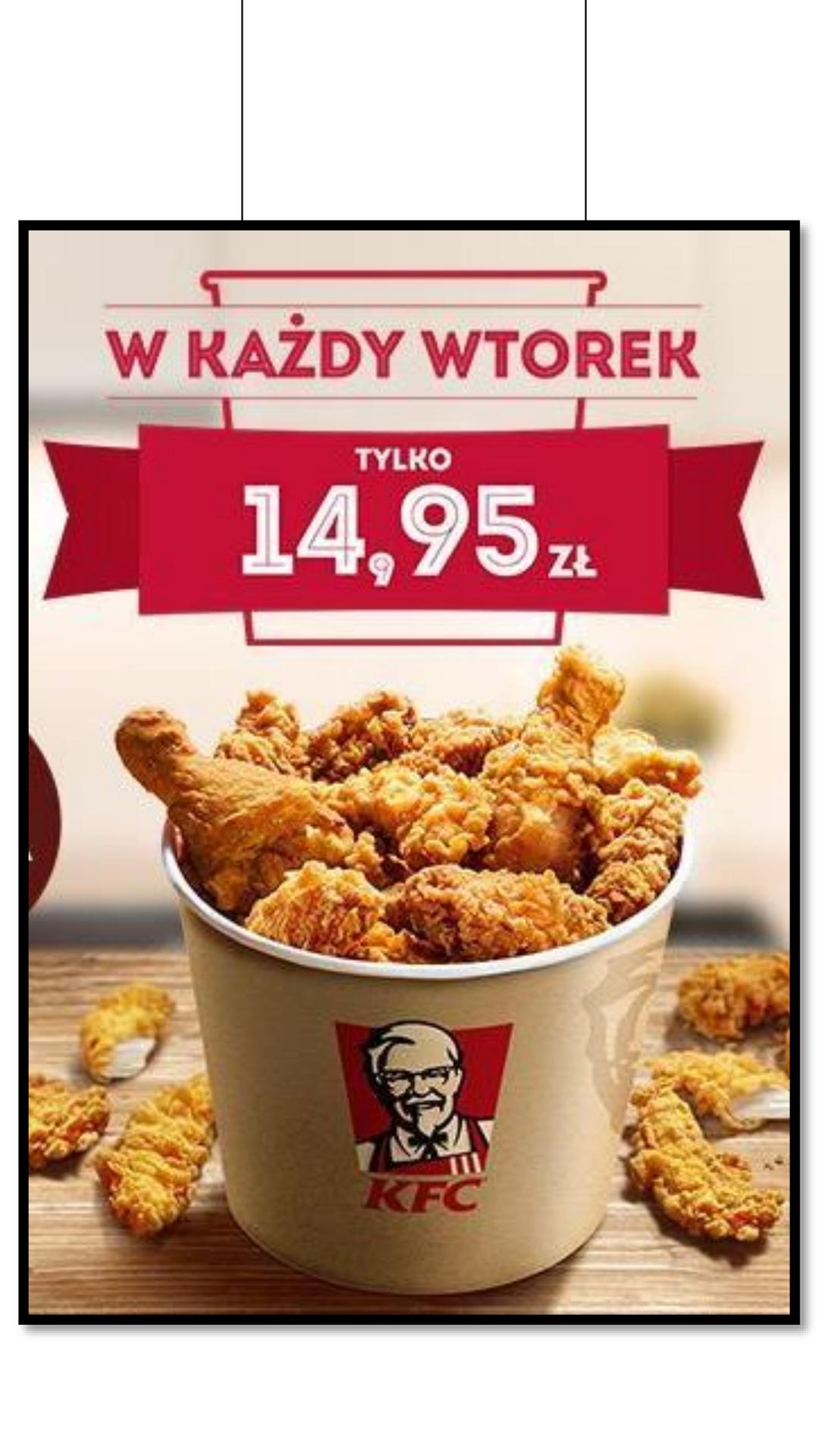 KFC! super kubełek powraca w nowym wydaniu!