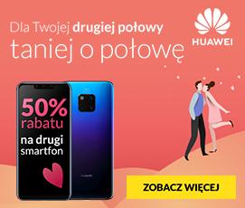 Promocja na Huawei w RTV Euro AGD. Kup jeden model, drugi dostaniesz za pół ceny!