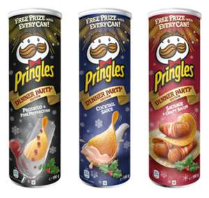 Pringles Limited Dinnner Party Edition Leclerc Gdańsk