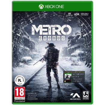 Mediaexpert Xbox One Metro Exodus + Mapa + Kolekcjonerski Kompas.