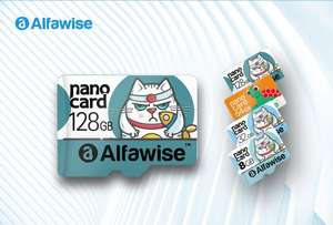 Alfawise 128GB UHS - 3 XC High Speed High Capacity Micro SD Card z 25,66$ na 19,99$