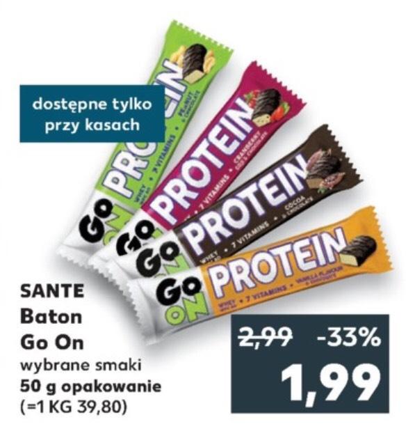 Proteinowe batony sante. Kaufland ogólnopolska