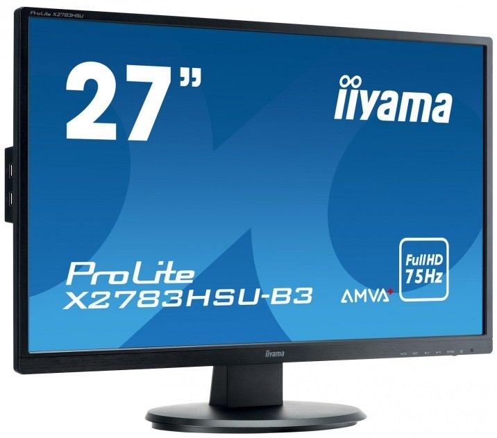 "iiyama ProLite X2783HSU-B3 27"" AMVA LED 4ms Black FHD"