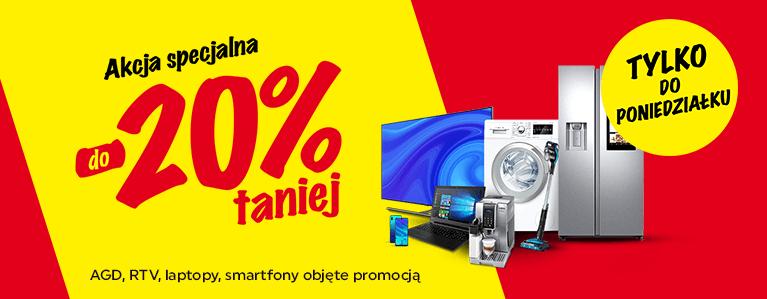 Tylko do poniedziałku wybrane produkt do - 20% w Neonet.pl