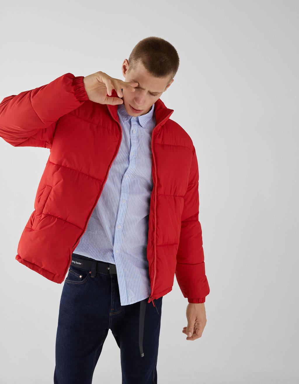 Pikowana kurtka + darmowa dostawa do sklepów Bershka