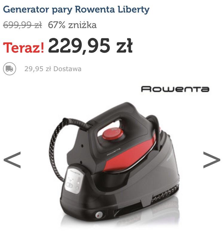 Generator pary Rowenta liberty