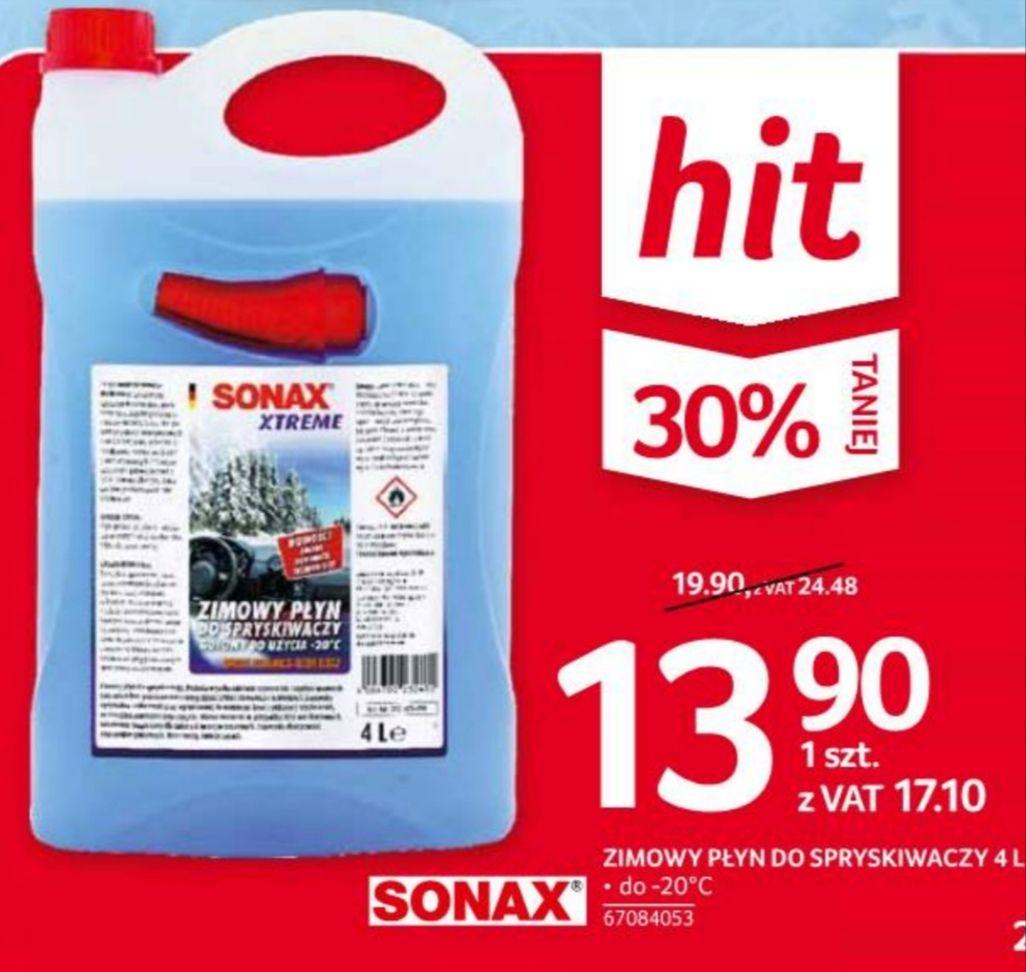 Zimowy płyn do spryskiwaczy Sonax Xtreme 4L Selgros