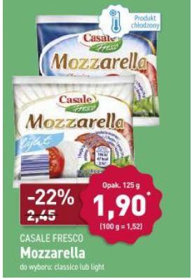Mozarella Casale - 125g- ALDI