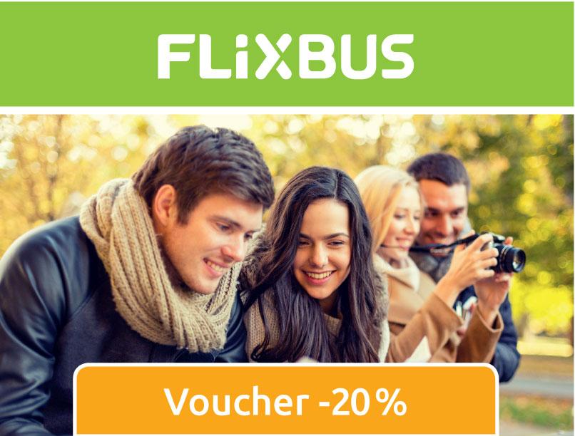 Kod na Flixa 20% @ Flixbus