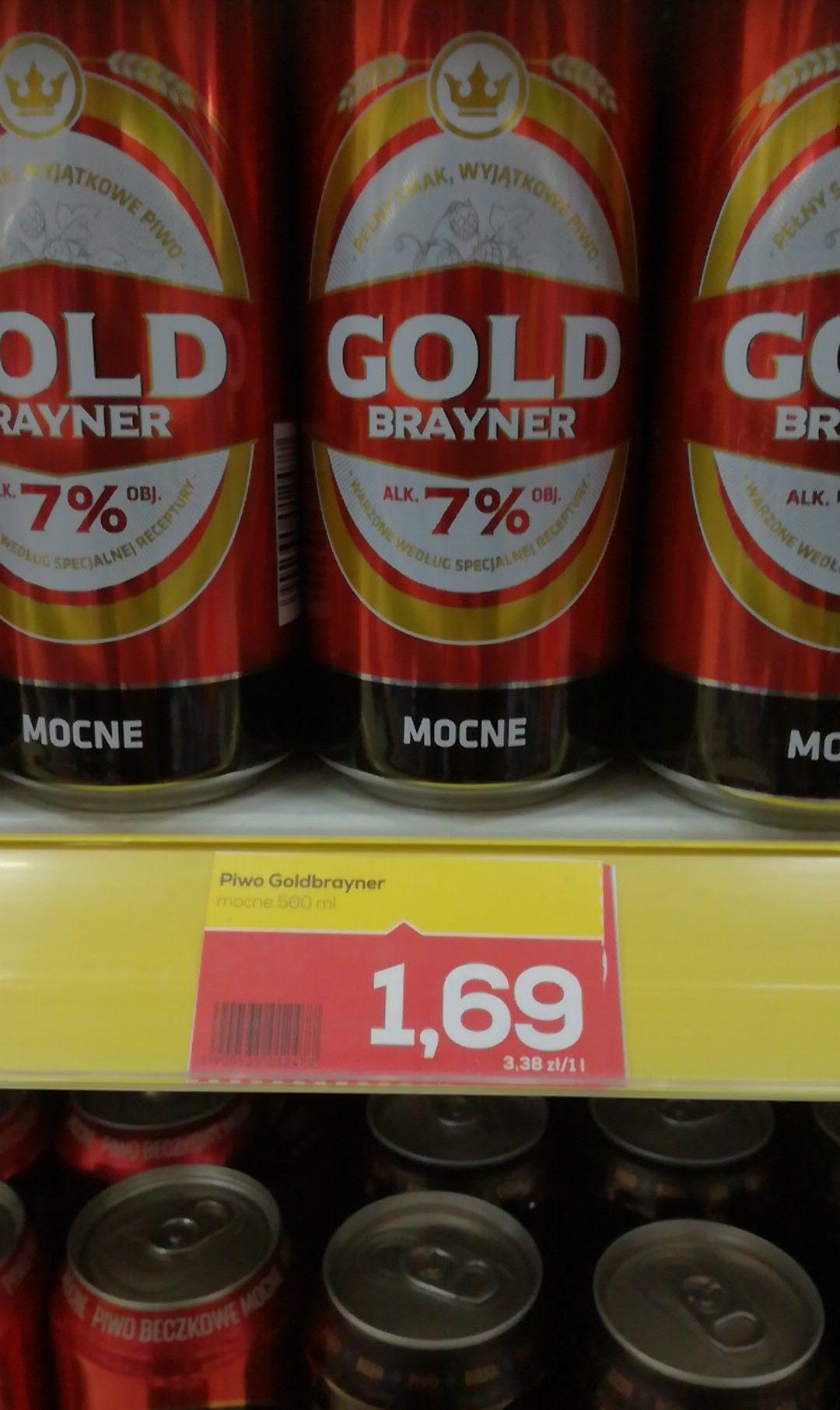 Piwo Gold Brayner Mocne Lewiatan