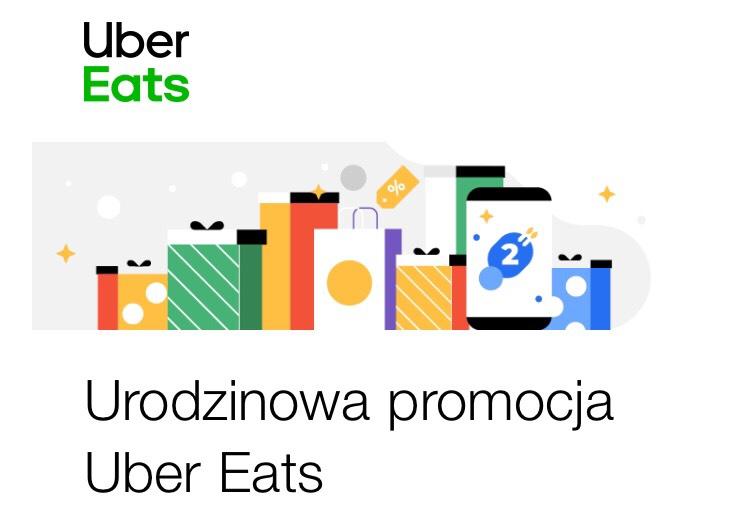 Darmowa dostawa Uber Eats