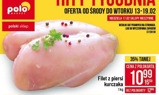 Filet z piersi kurczaka (cena z kartą polo) @polomarket