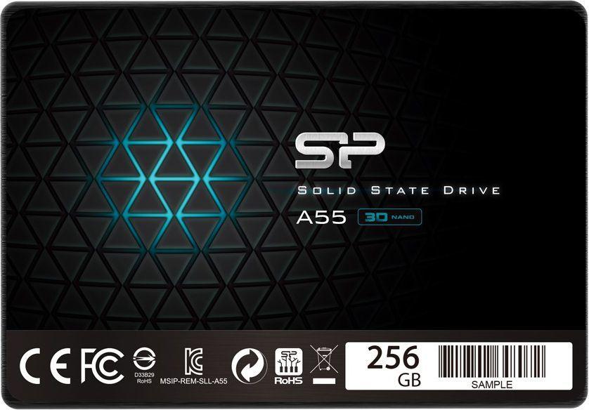 Dysk SSD Silicon Power Ace A55 256GB SATA3- najtańsze 256GB  faktyczne 238GB