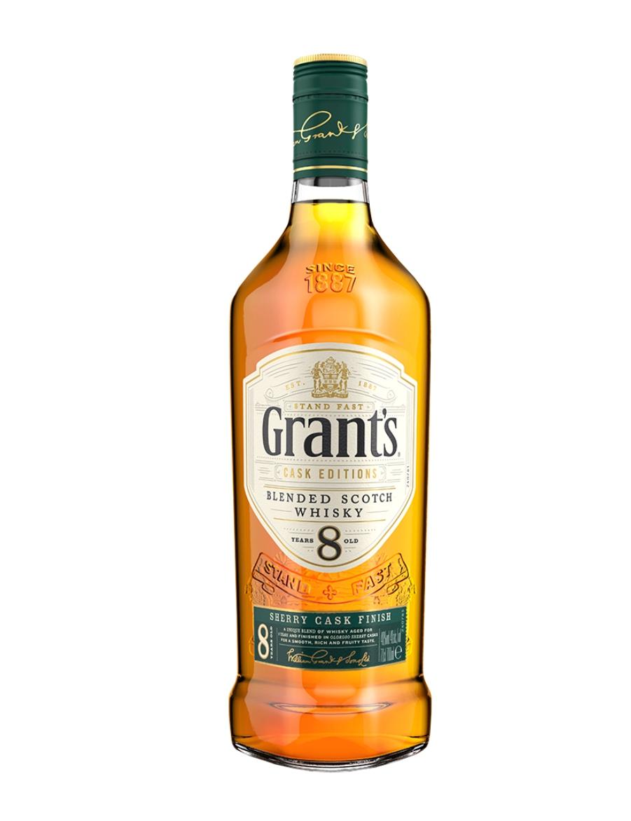 Lidl-Whisky Grant's 8 YO Sherry Cask Finish 0,7l