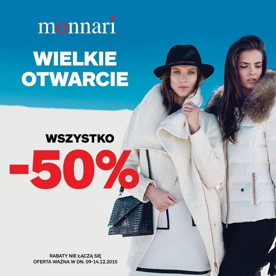 Monnari Wszystko -50% Wrocław