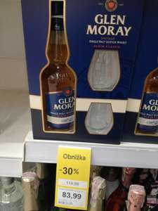 WHISKY GLEN MORAY + SZKLANKI