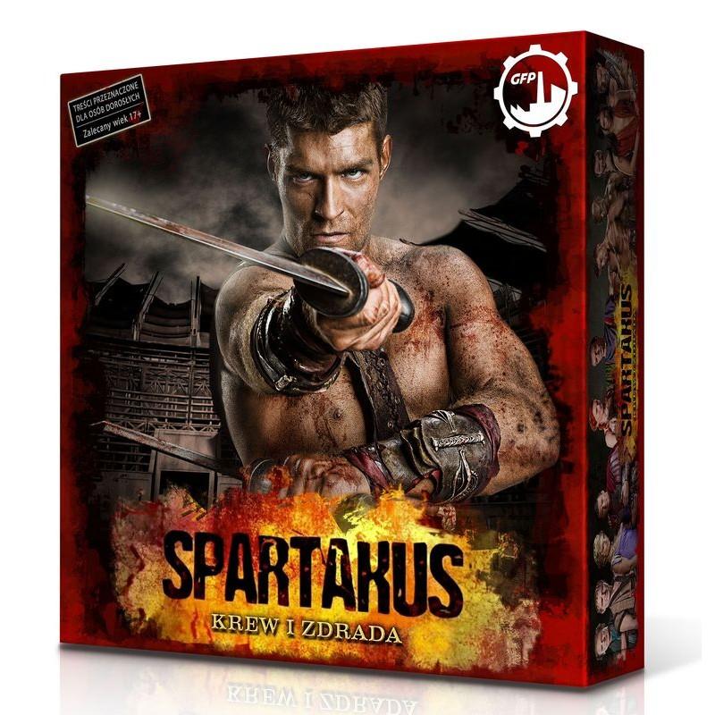 gra planszowa Spartakus: Krew i Zdrada @ muve