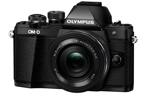Aparat fotograficzny Olympus OM-D E-M10 Mark II z ob. 14-42mm EZ PANCAKE