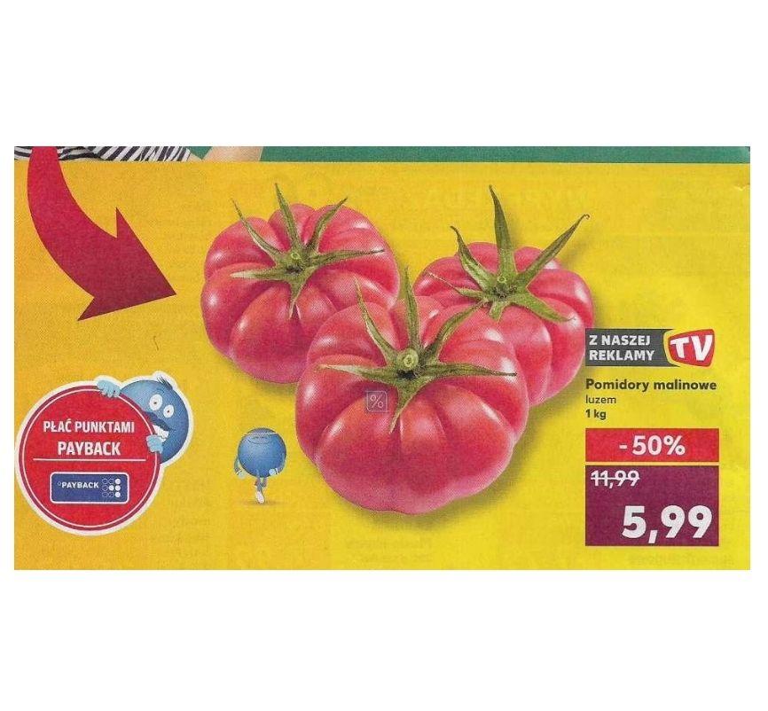 Tylko w sobotę 16.02. Pomidory malinowe Kaufland