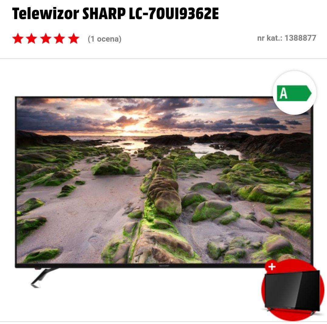 SHARP  110 cali                     czyli             TV 70 cali + TV 40 cali