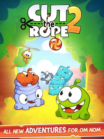 Cut The Rope 2 za darmo dla iOS