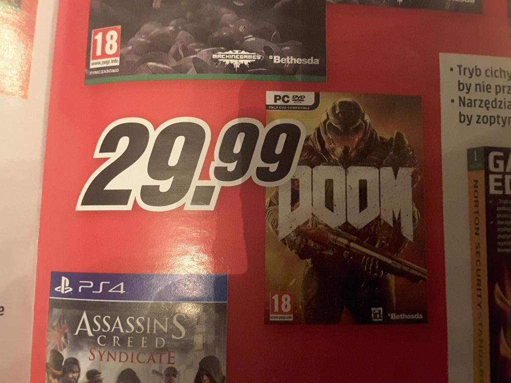 Doom 2016, Pc, Media Markt