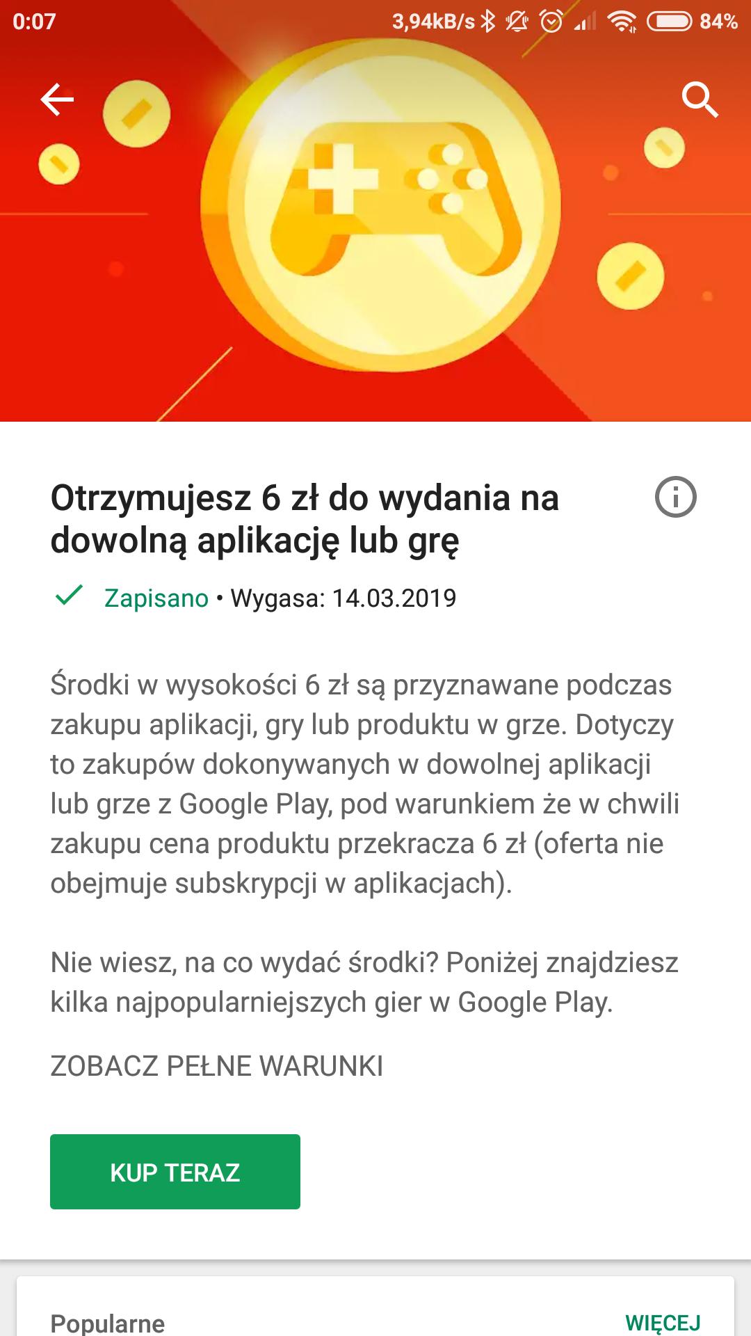 -6 zł w Google Play