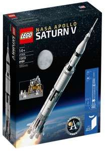LEGO Ideas - Rakieta NASA Apollo Saturn V 21309