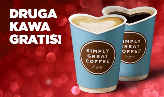 Kupisz jedną kawę - drugą dostaniesz gratis! @Circle K