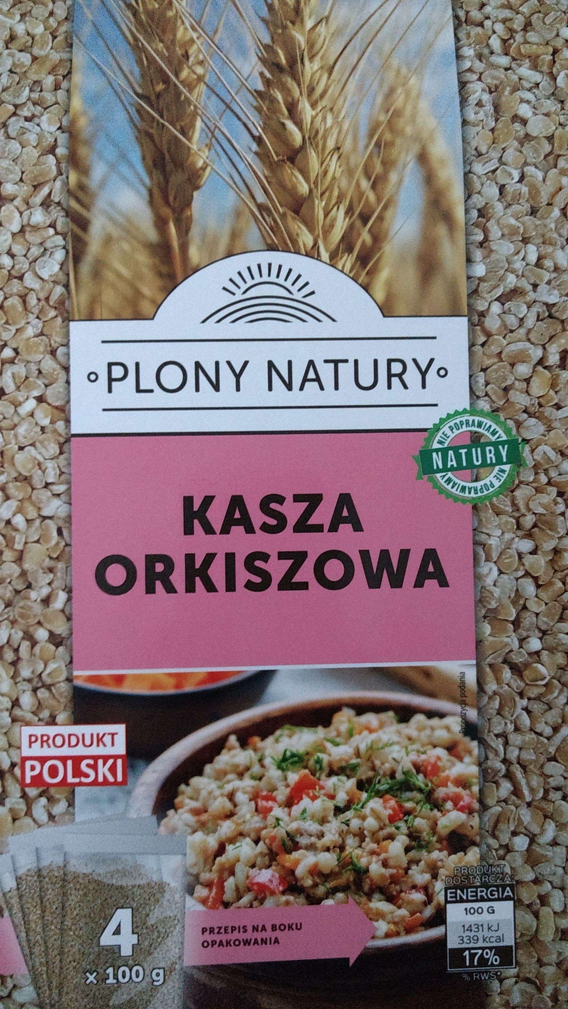 Kasza orkiszowa 4 x 100g @Biedronka