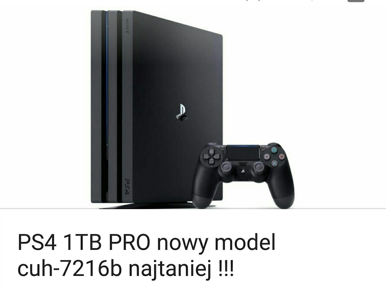 PS4 pro nowy model cuh-7216b