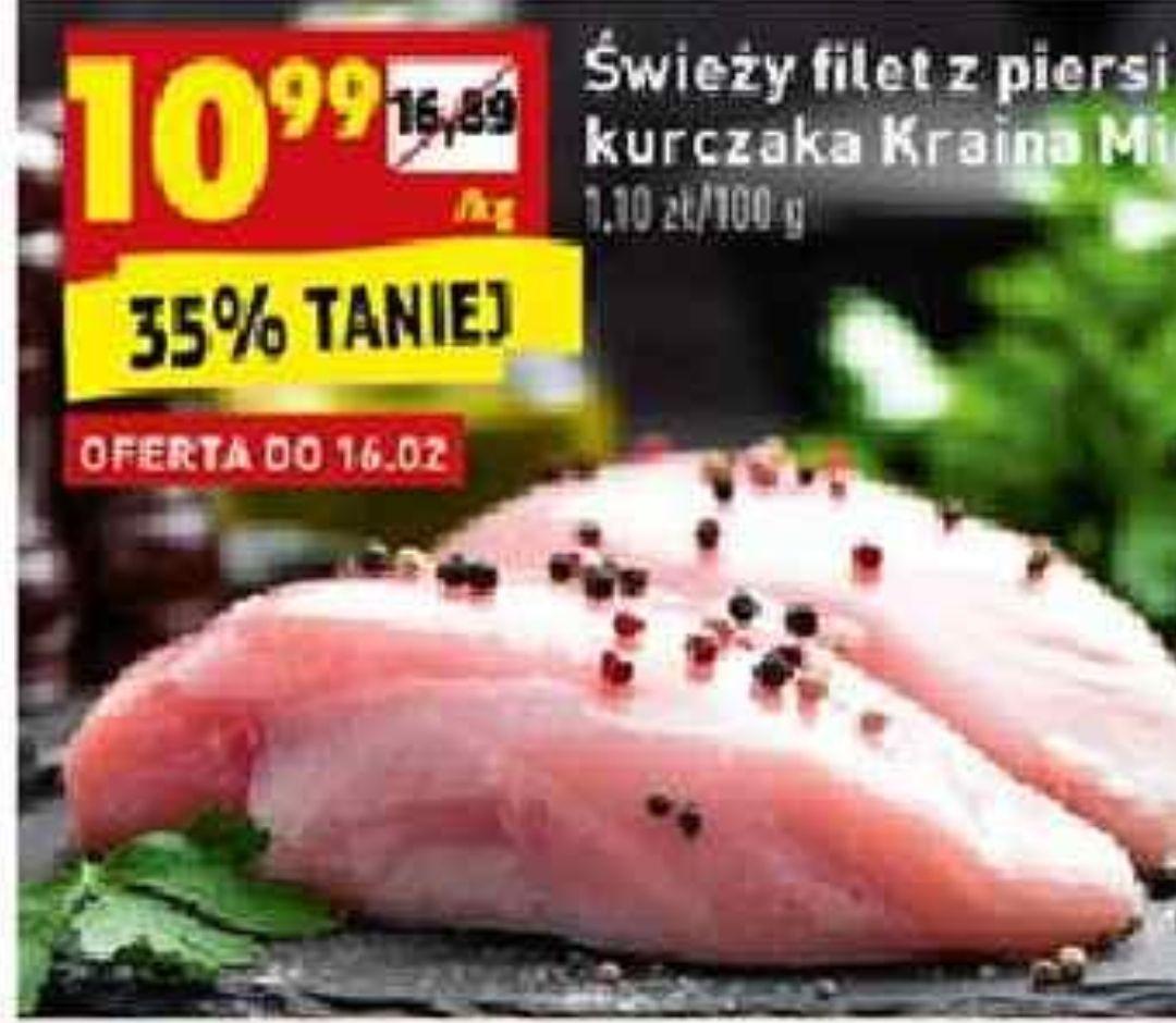 Filet z piersi kurczaka Kraina Mięs @Biedronka
