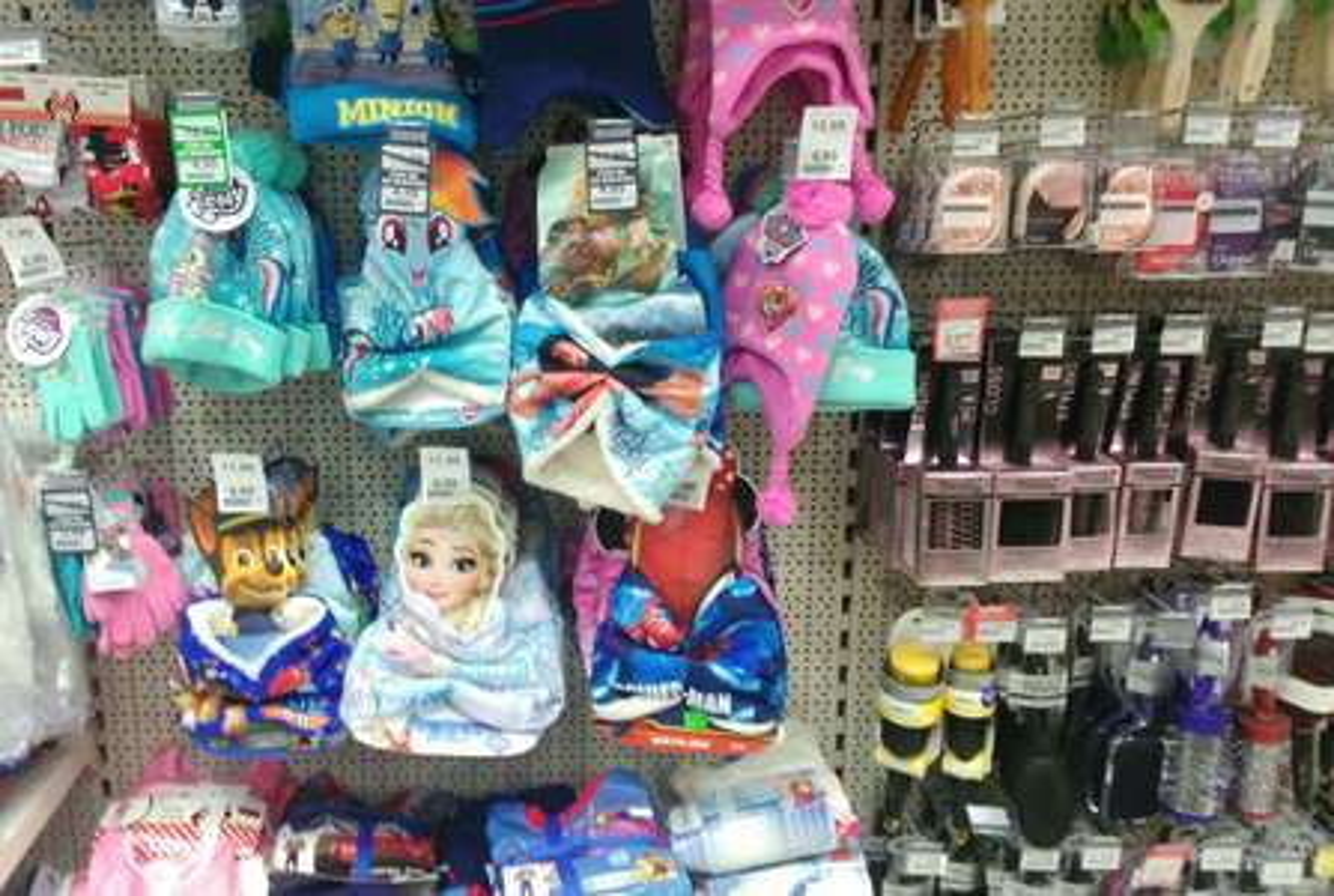 Czapki, szaliki typu komin i rękawiczki dziecięce @ Rossmann