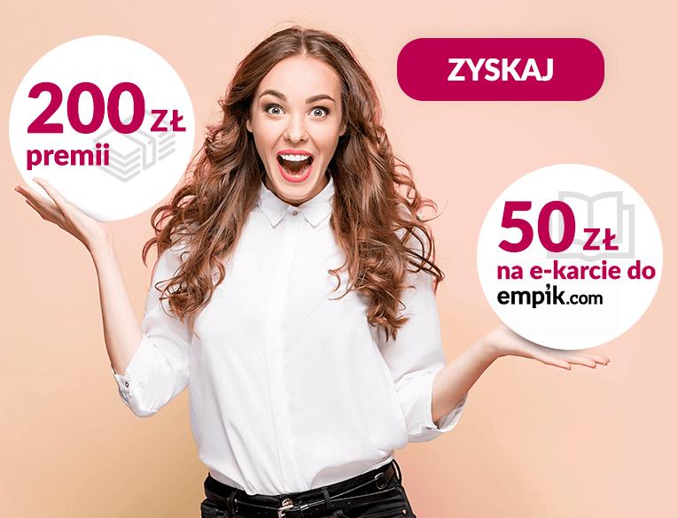 Bank Millennium: 200 zł premii i 50 zł do empik.com za założenie Konta 360