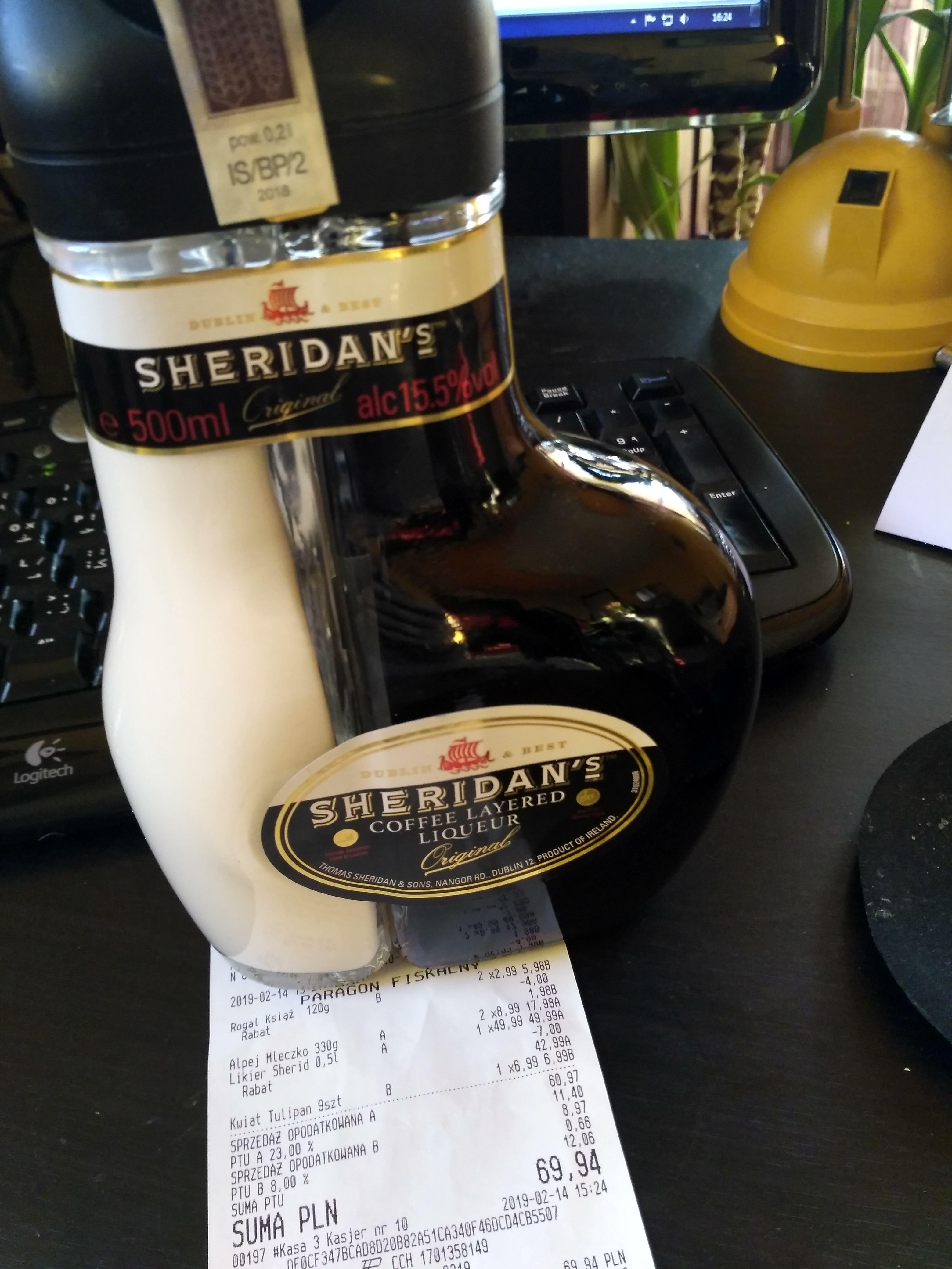 Likier kawowy Sheridan's - Biedronka