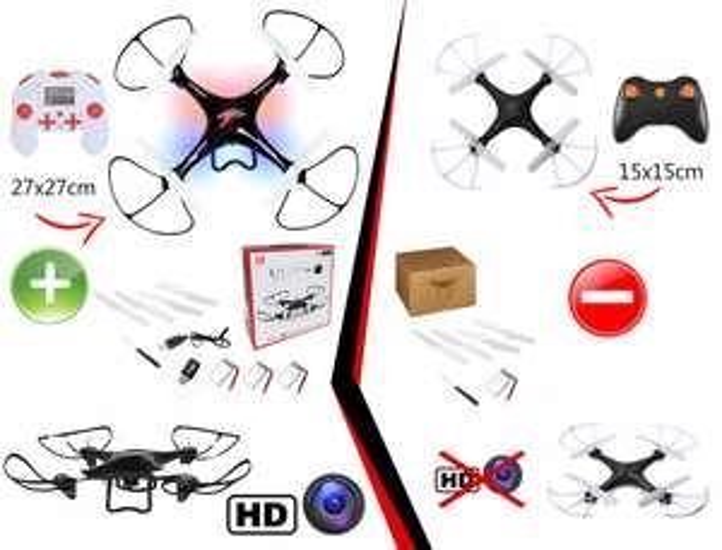 ZDALNIE STEROWANY DRON LED HELIKOPTER KAMERA HD