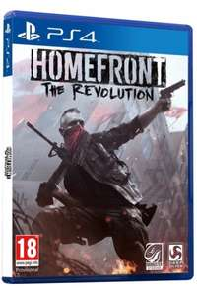 Gra na PS4: Homefront The Revolution PL + DLC + nakładki na analogi