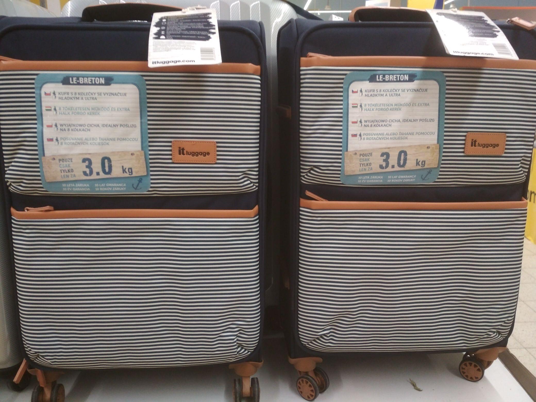 Walizka it luggage, 55 L, 10 lat gwarancji.