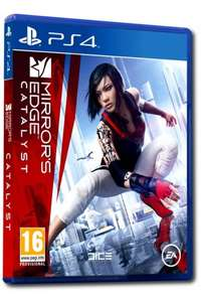 Gra na PS4: Mirrors Edge Catalyst PL + nakładki na analog4