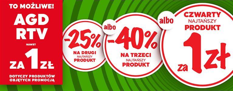 NEONET - drugi produkt -25%, trzeci -40%, czwarty za 1 zł