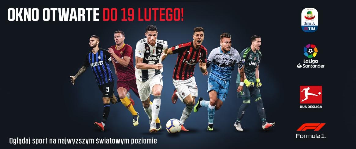 Eleven Sports kanały otwarte Multimedia Polska do 19 lutego