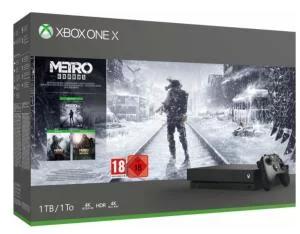 Konsola Microsoft Xbox One X (Metro Exodus Edition) 1TB - wysyłka przez pośrednika