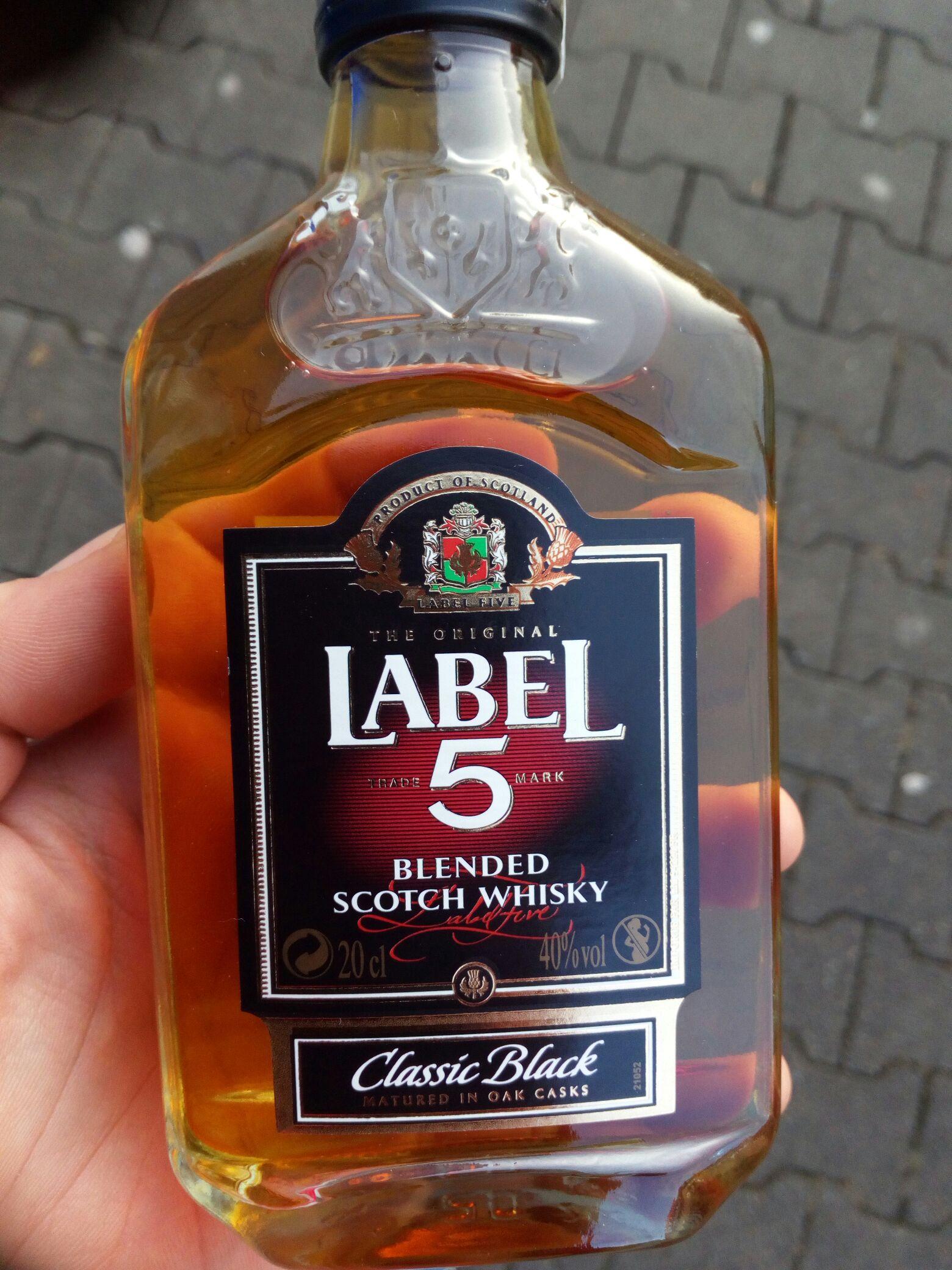Label 5 0.2l Tesco
