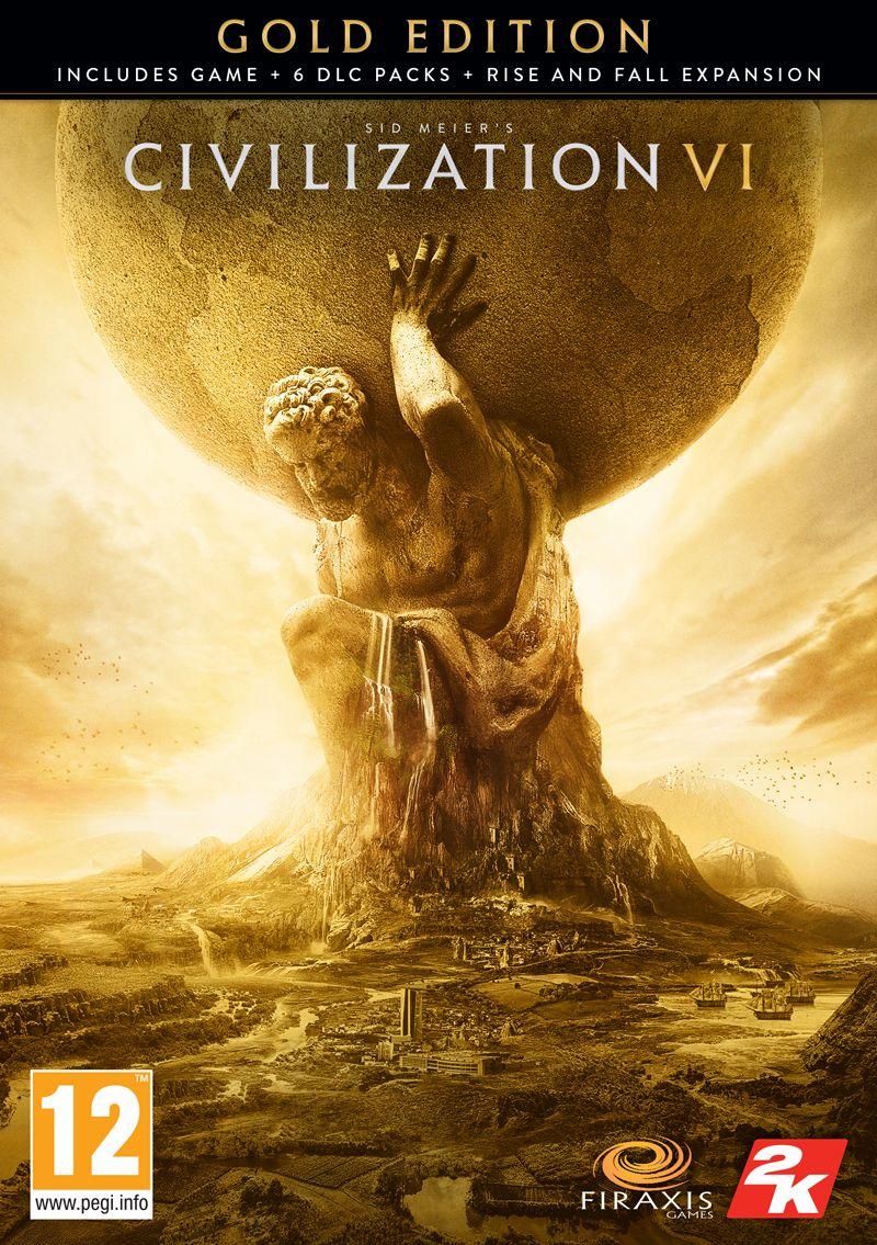 Civilization VI Gold Edition PC za 107 PLN (możliwe 102)